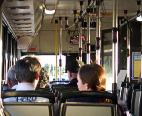 Passeggeri autobus