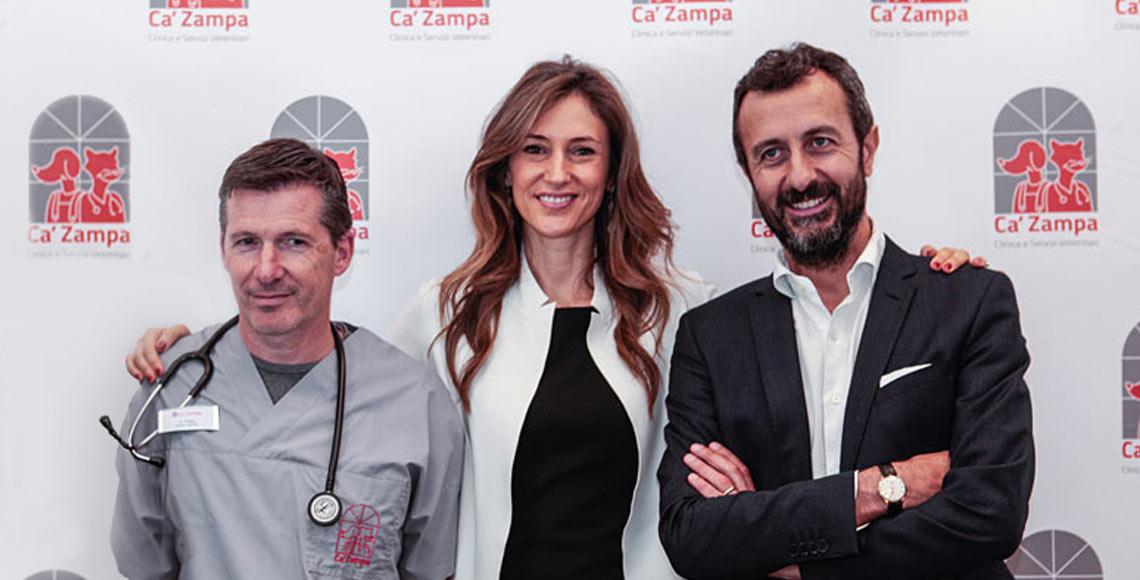 Marco Maggi e il gruppo di Ca' Zampa
