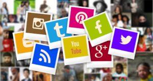 loghi piattaforme social