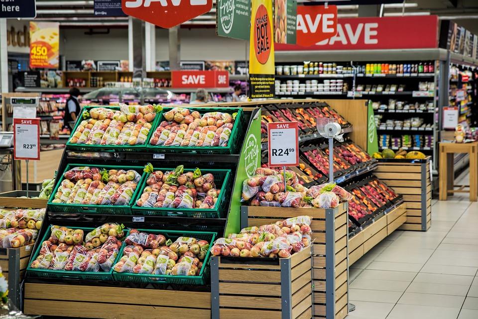 banchi del supermercato