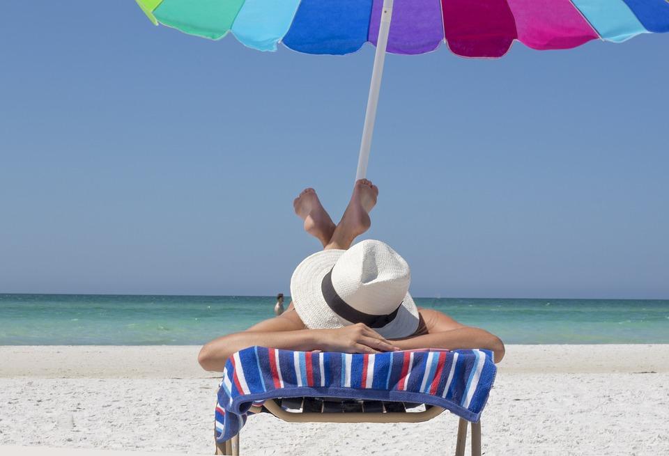 relax sotto l'ombrellone