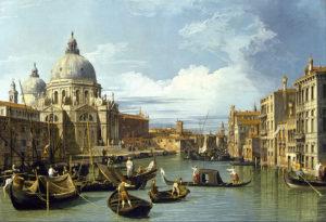 Canaletto, Ingresso del Canal Grande