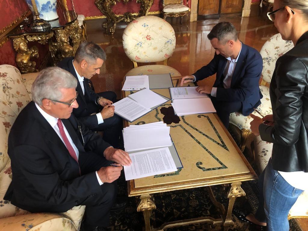 Oggi la firma del protocollo d'intesa