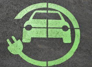 simbolo auto elettrica