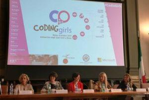 Conferenza stampa di presentazione della 6a edizione di Coding Girls