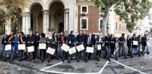 Monopattini, il presidio davanti al Ministero dei Trasporti