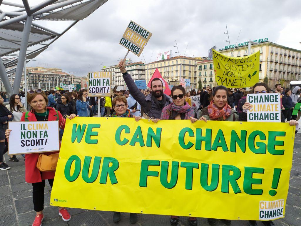 sciopero per il clima