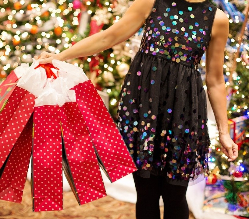 shopping di Natale