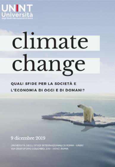 convegno climate change