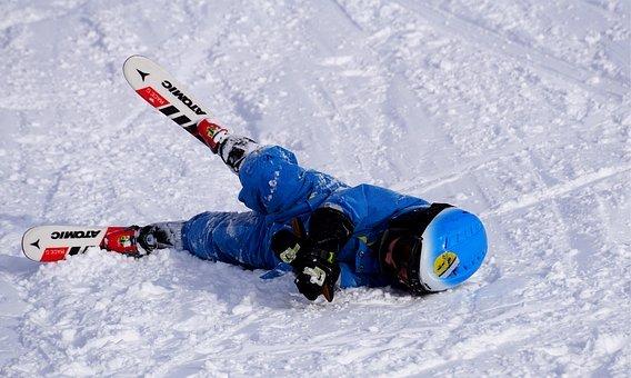 Incidenti sugli sci