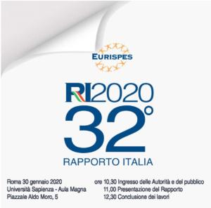 Rapporto Italia 2020