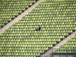 spettatore stadio calcio