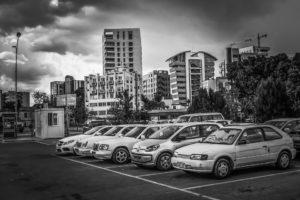 auto in parcheggio