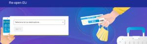 Re-open EU, informazioni per viaggiare in sicurezza