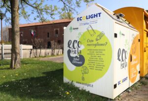 Rifiuti elettronici Ecoisola (Fonte Ecolight)