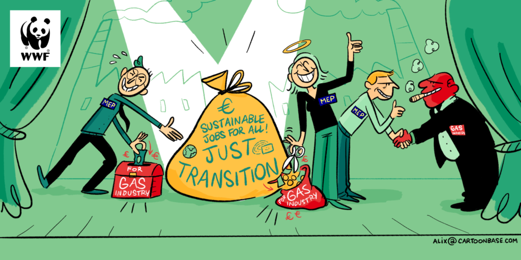 Just Transition Fund, le richieste del WWF (Fonte: WWF)