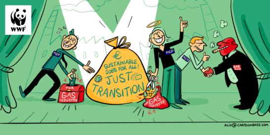 Fondo Just Transition, WWF: aprire le porte a un futuro sostenibile