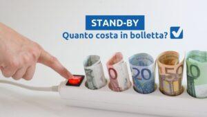 Stand-by elettrodomestici in bolletta (Fonte: Selectra)