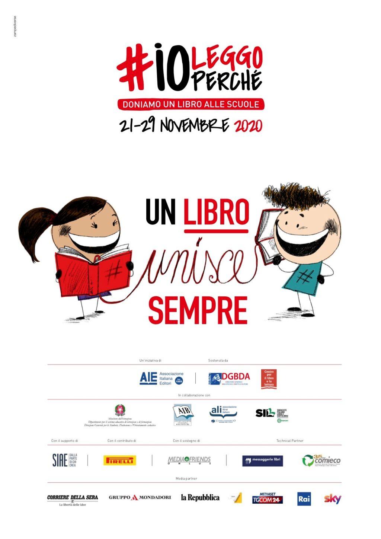 Torna l'iniziativa #ioleggoperché, per il potenziamento delle biblioteche scolastiche
