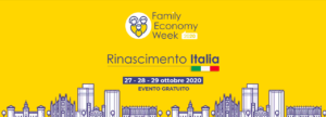 Family Economy Week, dal 27 al 29 ottobre in streaming