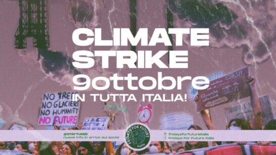 Sciopero per il clima, oggi attivisti in piazza insieme ai Fridays For Future