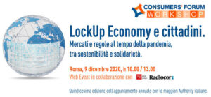 LockUp Economy e cittadini – Consumers' Forum Workshop