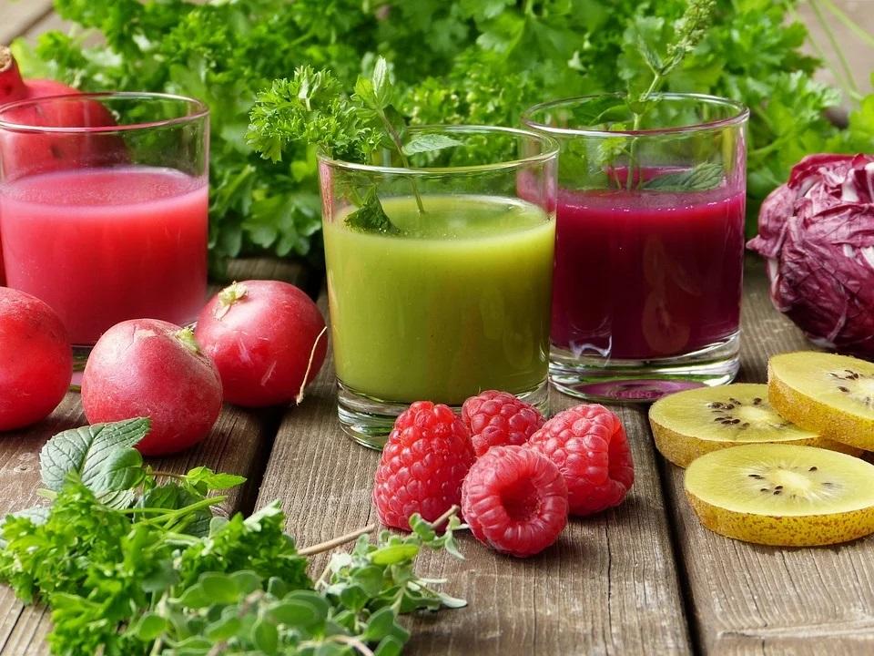 succo di frutta e verdura