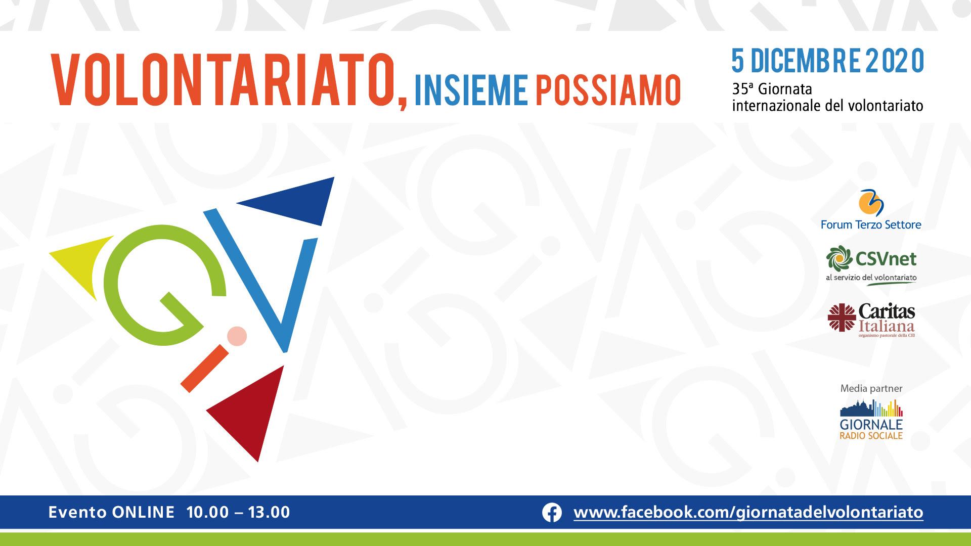 35^ Giornata internazionale del volontariato