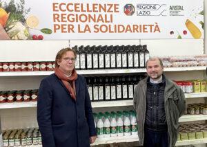 Mario Ciarla Presidente Arsial e Don Benoni Ambarus Direttore Caritas.jpg