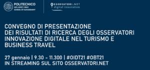 Il travel nel 2021 – Osservatori Innovazione Digitale