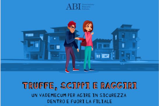 Truffe e raggiri in banca, l'infografica Abi-Consumatori per la sicurezza dentro e fuori la filiale