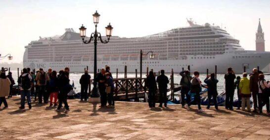 """Via le grandi navi da Venezia, Legambiente: """"Ripartire verso un futuro sostenibile"""""""