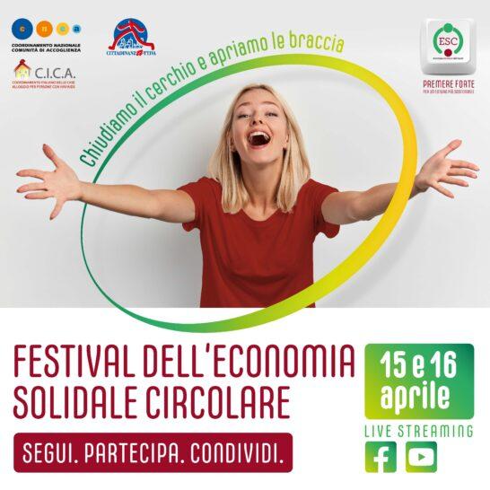 Economia solidale circolare, il 15 e 16 aprile il primo festival online