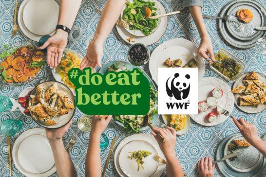"""Food4Future, la campagna del WWF per """"non mangiarci il Pianeta"""""""