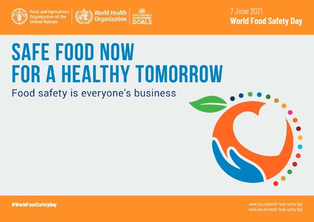 Cibo sicuro, oggi la Giornata mondiale per la sicurezza alimentare
