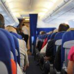 posti a sedere interno aereo