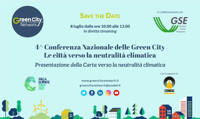 4^ Conferenza Nazionale delle Green City