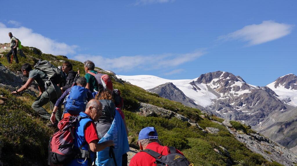 Legambiente sui ghiacciai della Val Martello: Vedretta Lunga, Vedretta Alta, Forcola e Cevedale